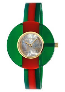 Gucci Vintage Web Bangle Watch, 35mm