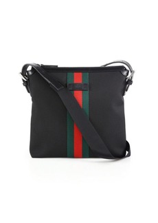 Gucci Web Band Canvas Small Messenger Bag