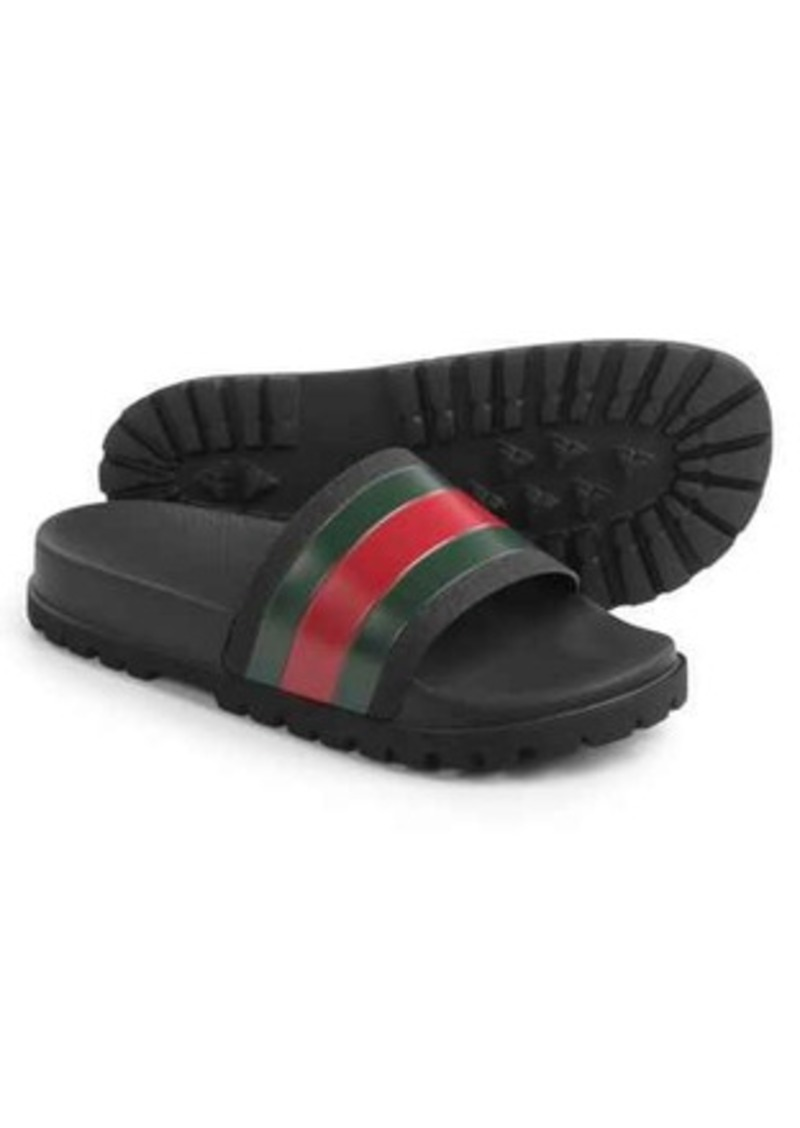 539176416785 SALE! Gucci Gucci Web Slide Sandals (For Men)