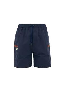 Gucci Web-stripe pockets technical drawcord shorts
