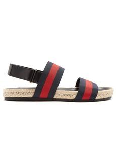 Gucci Web-stripe sandals
