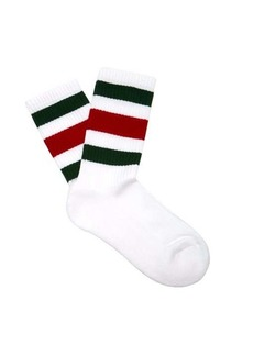 Gucci Web-striped cotton-blend socks
