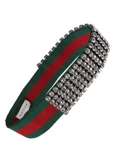 Gucci Webby Crystal Headband