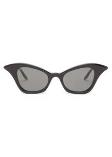 Gucci Winged cat-eye acetate sunglasses
