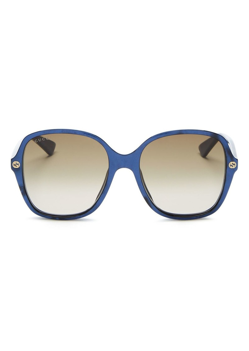 Gucci Women's Female Square Sunglasses, 55mm