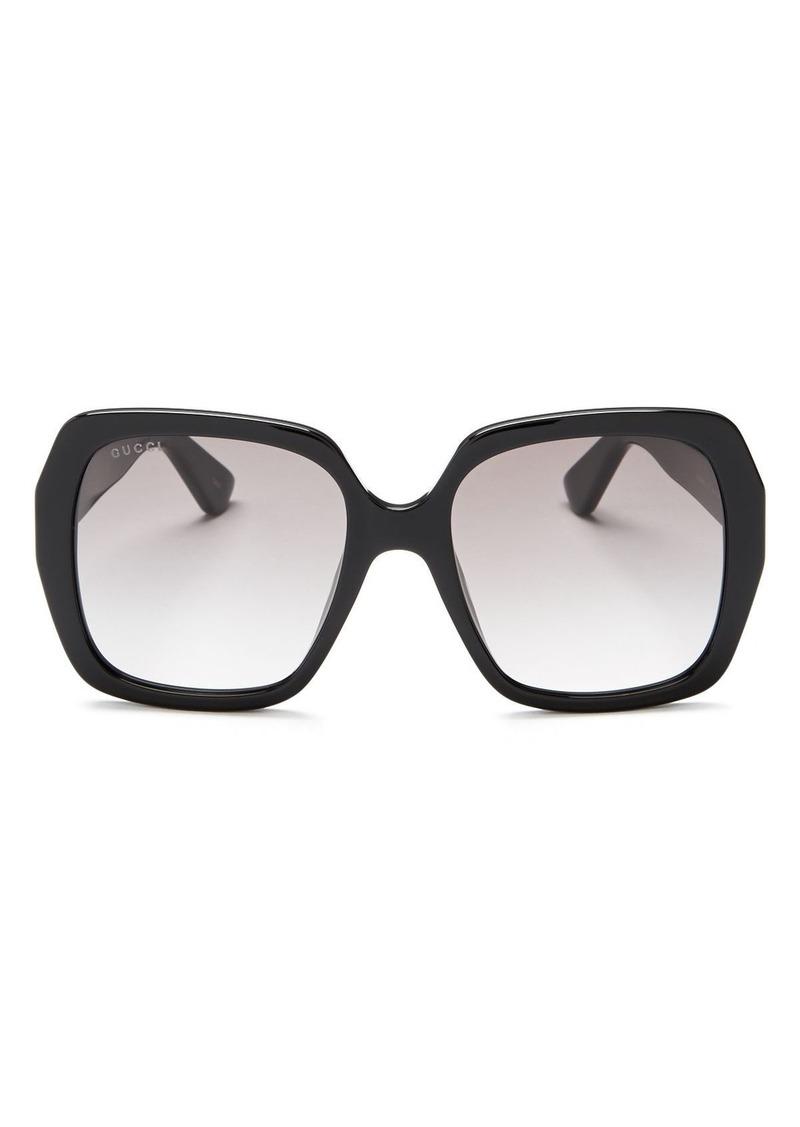 82f3cb259bd4e Gucci Gucci Women s Oversized Square Sunglasses