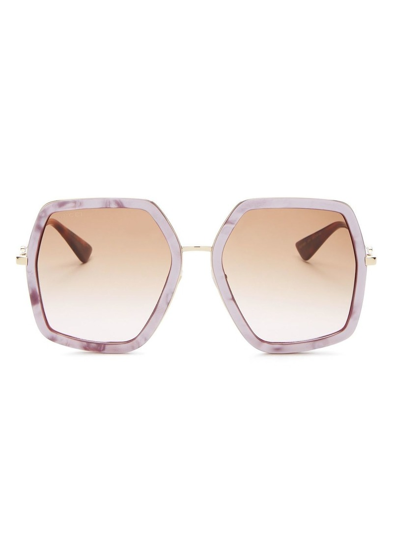 Gucci Women's Square Sunglasses, 56mm