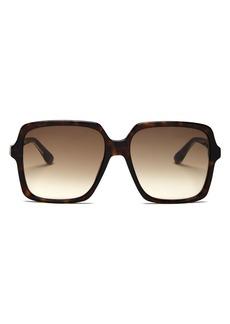 Gucci Women's Web Oversized Square Sunglasses, 56mm