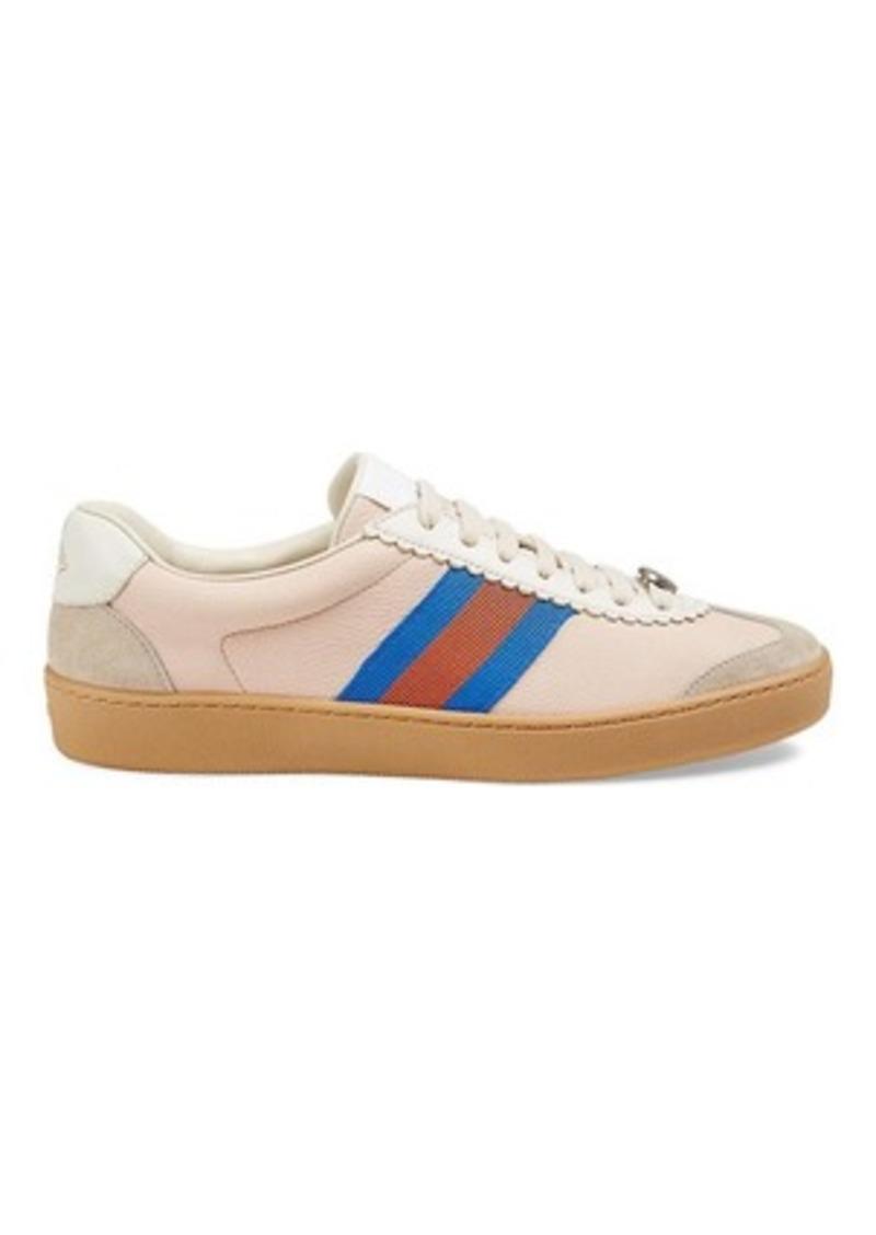 a1c9461e88b Gucci Gucci Women s Leather   Suede Sneakers