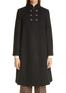 Gucci Wool Blend Military Cloth Coat