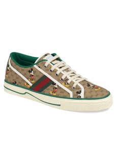 Gucci x Disney 1977 GG Print Tennis Sneaker (Men)
