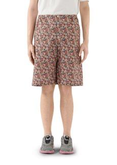 Gucci x Liberty London Floral Print Cotton Muslin Shorts
