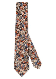 Gucci x Liberty London Floral Print Silk Crepe Tie