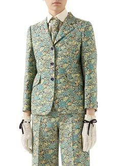Gucci x Liberty London Floral Print Wool & Mohair Jacket