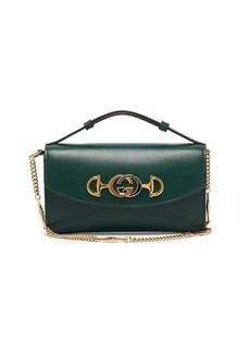Gucci Zumi logo-plaque leather cross-body bag