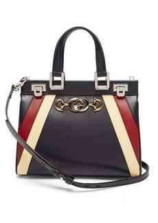 Gucci Zumi small striped leather handbag