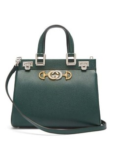 Gucci Zumi small top-handle grained-leather bag