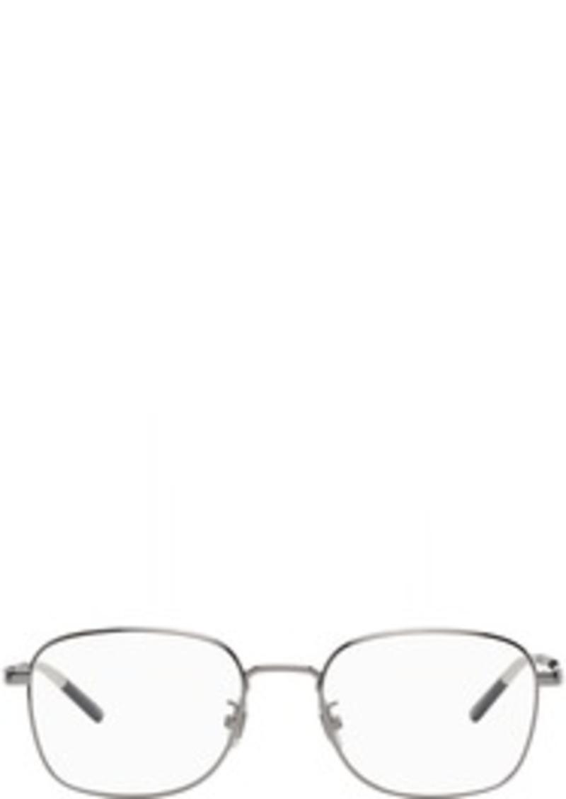 Gucci Gunmetal Rectangular Glasses