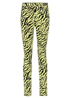 Gucci High-rise printed skinny jeans