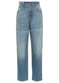 Gucci High-rise wide-leg jeans