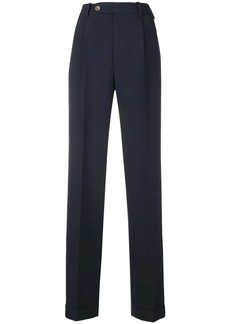 Gucci high-waist straight-leg trousers