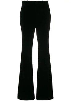 Gucci high-waisted flared trousers