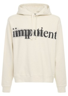Gucci Impotent Print Cotton Hoodie