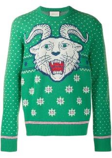 Gucci intarsia jumper