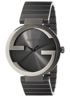 Gucci Interlocking G Grey PVD Watch