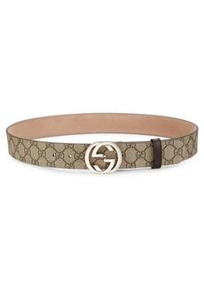 Gucci Interlocking G Logo Belt