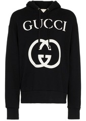 Gucci Interlocking G logo cotton hoodie