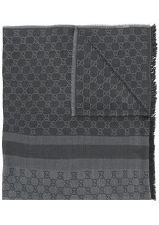 Gucci jacquard GG logo scarf