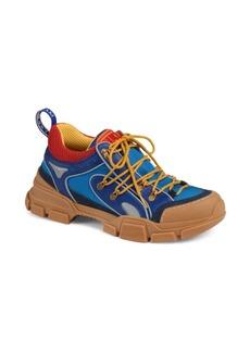 Gucci Flashtrek Leather & Canvas Sneaker