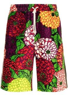 Gucci x Ken Scott floral-print track shorts