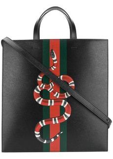 Gucci Kingsnake print tote bag