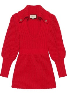 Gucci knitted mini dress