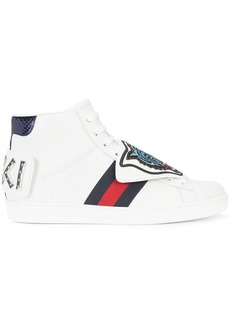 Gucci lace-up tiger sneakers