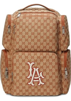Gucci Large backpack with LA Angels™ patch