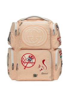Gucci Large backpack with NY Yankees™ patches