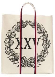 Gucci laurel wreath print tote