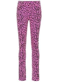 Gucci Leopard high-rise skinny jeans