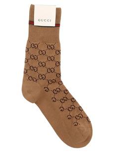 Gucci Logo Cotton Socks