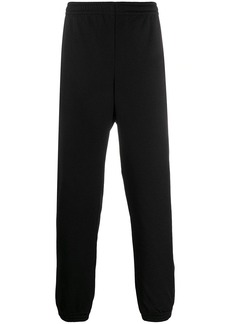 Gucci logo embroidered track pants