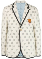 Gucci logo fitted jacket
