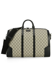 Gucci Logo Monogram Duffle Bag