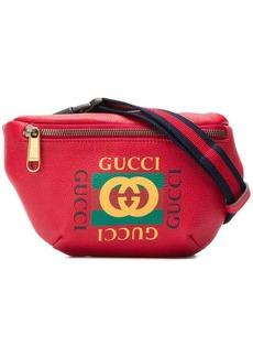 Gucci logo print belt bag