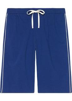 Gucci logo-print knee-length shorts