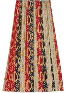 Lurex Gucci game wool skirt