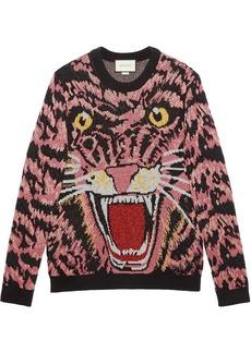 950a2569186 Gucci Gucci Soave Amore Guccification print sweatshirt - Nude ...