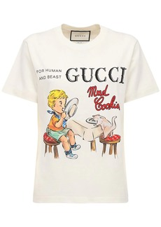 Gucci Mad Cookies Print Cotton Jersey T-shirt